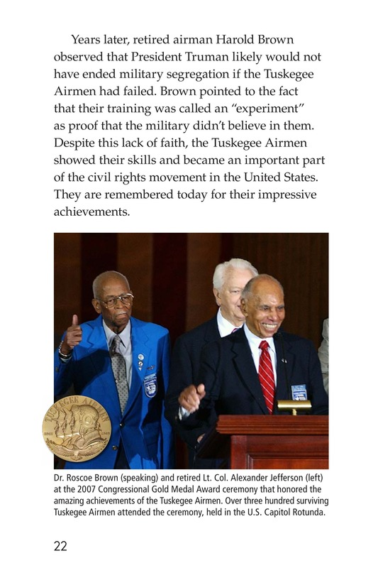 Book Preview For The Tuskegee Airmen Page 22