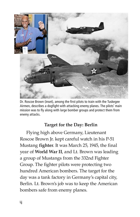 Book Preview For The Tuskegee Airmen Page 4