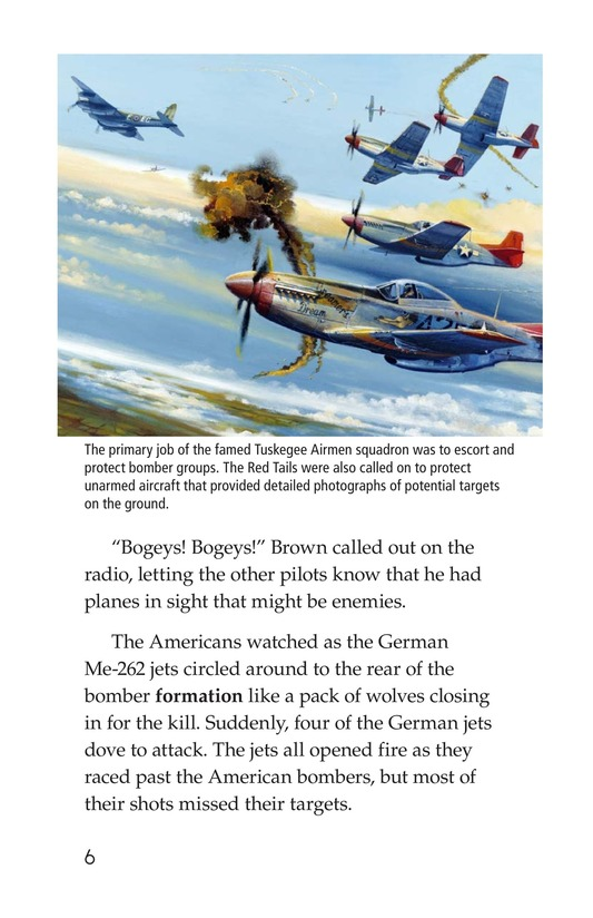 Book Preview For The Tuskegee Airmen Page 6