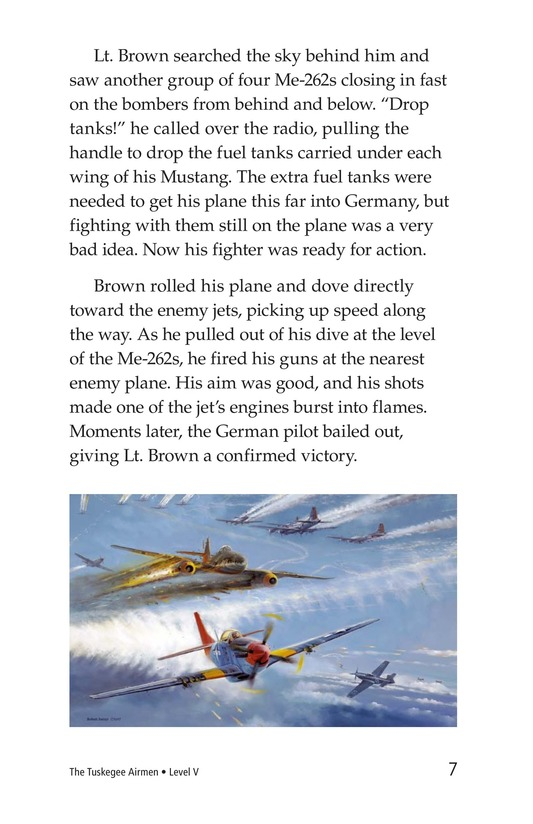 Book Preview For The Tuskegee Airmen Page 7