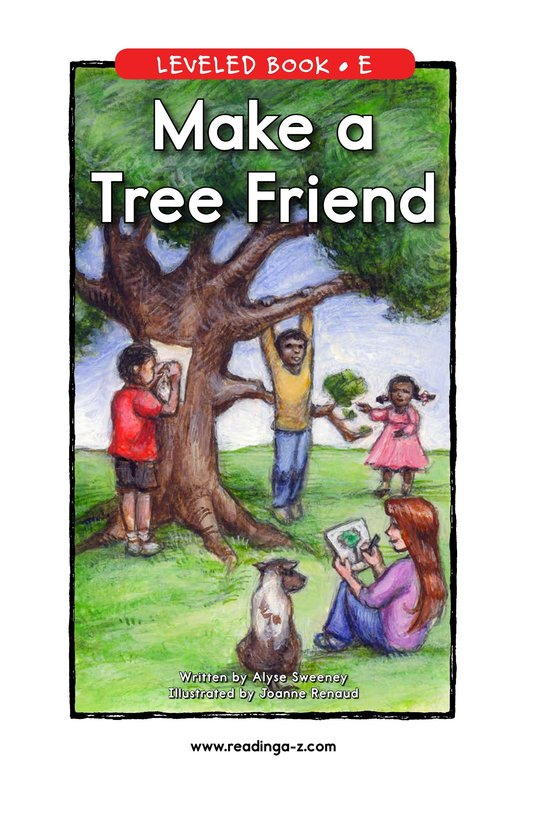 Book Preview For Make a Tree Friend Page 1
