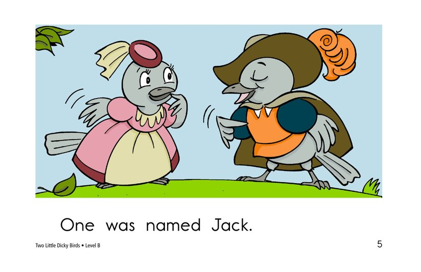 Book Preview For Two Little Dicky Birds Page 5
