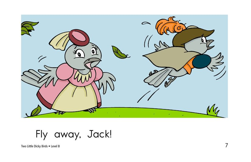 Book Preview For Two Little Dicky Birds Page 7