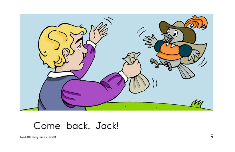 Book Preview For Two Little Dicky Birds Page 9