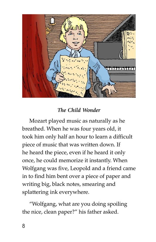 Book Preview For Mozart Page 8