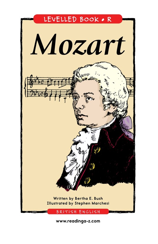 Book Preview For Mozart Page 1