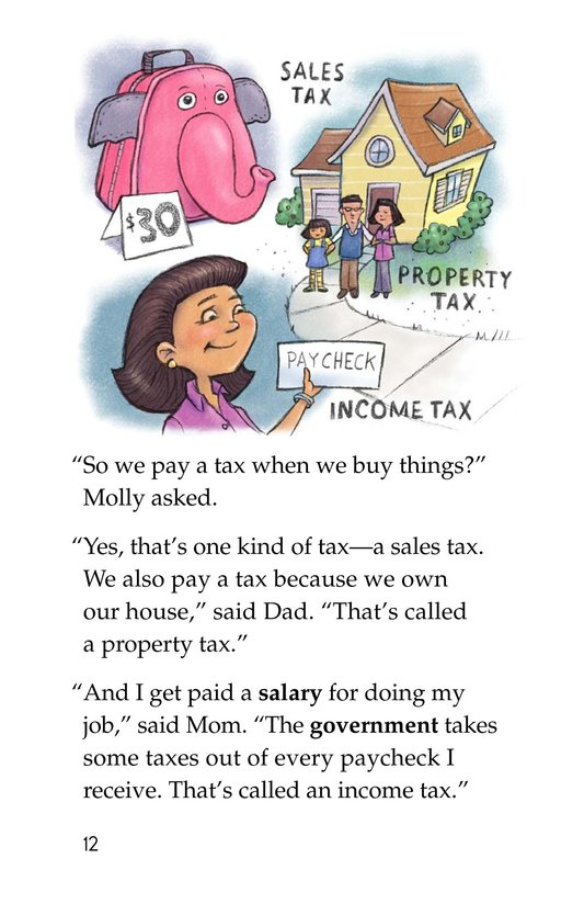 Book Preview For The Backpack Tax Page 12