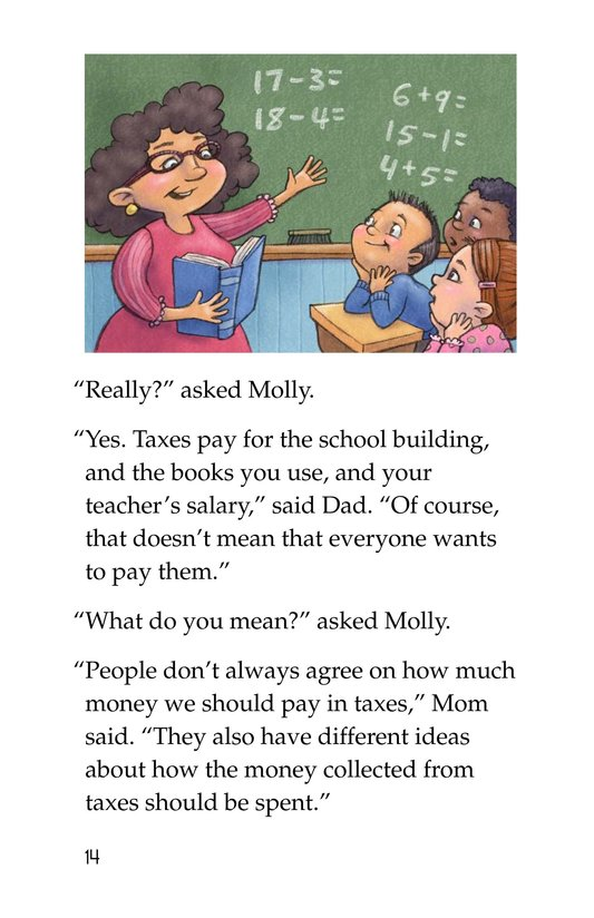 Book Preview For The Backpack Tax Page 14