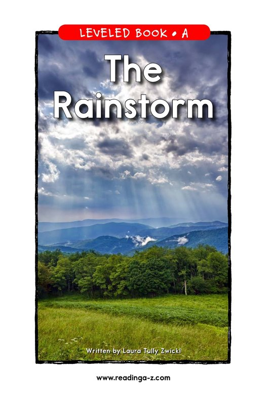 Book Preview For The Rainstorm Page 1