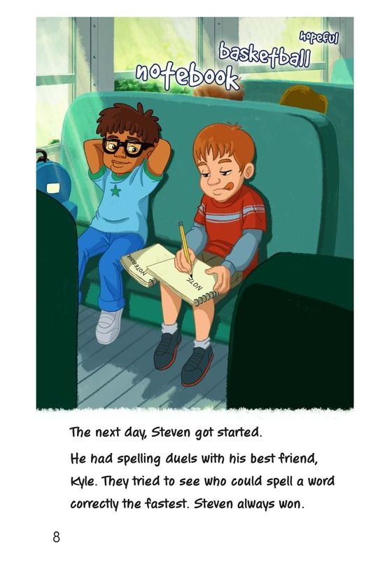 Book Preview For Second-Place Steven Page 8