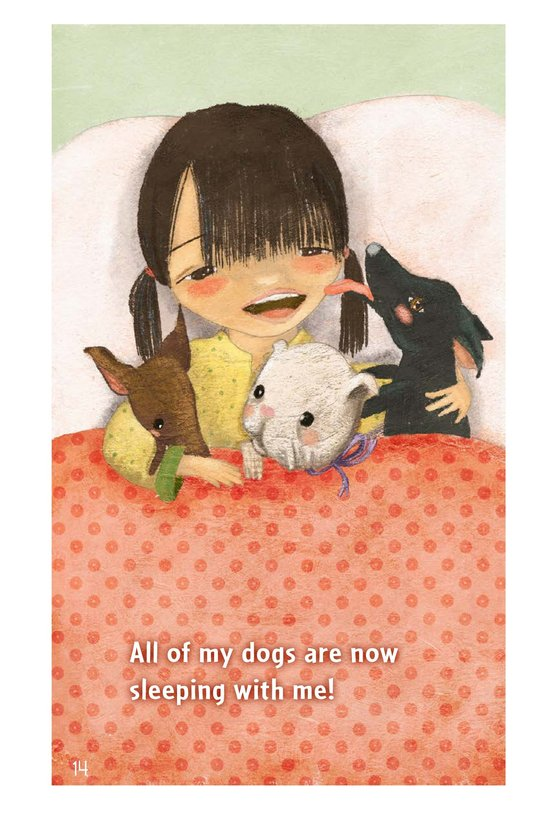 Book Preview For Three Little Dogs Page 14