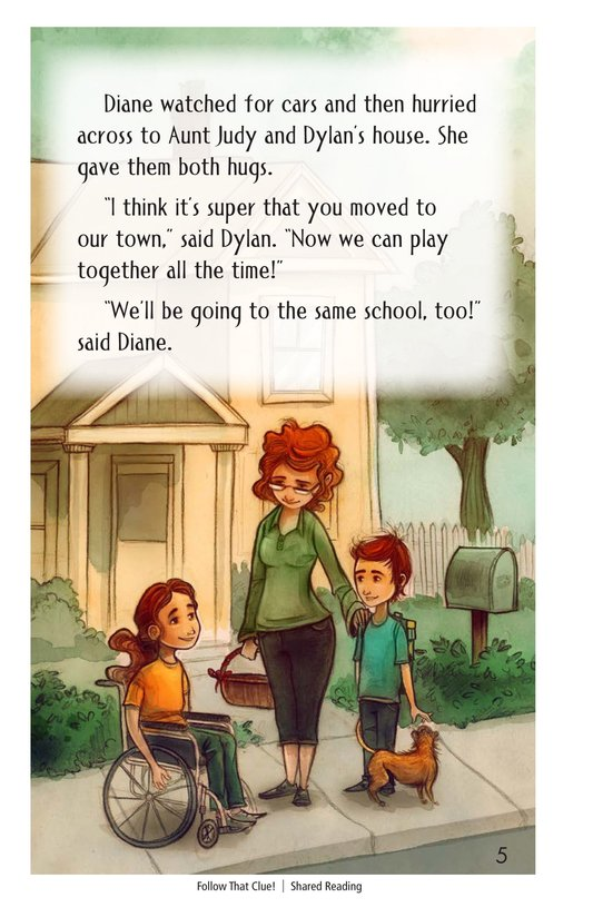 Book Preview For Follow that Clue! Page 5