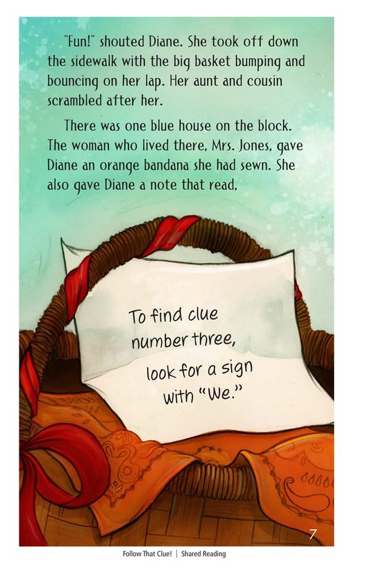 Book Preview For Follow that Clue! Page 7