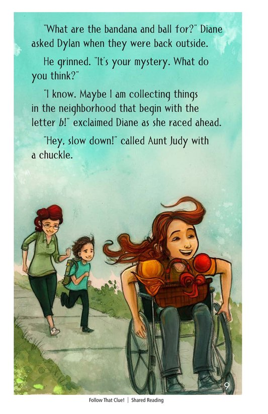Book Preview For Follow that Clue! Page 9
