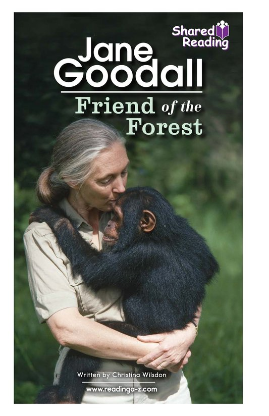 Book Preview For Jane Goodall: Friend of the Forest Page 1