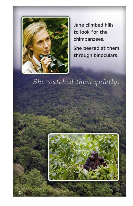 Book Preview For Jane Goodall: Friend of the Forest Page 6