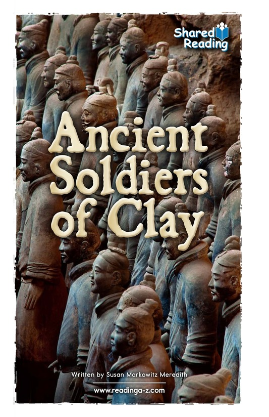 Book Preview For Ancient Soldiers of Clay Page 1