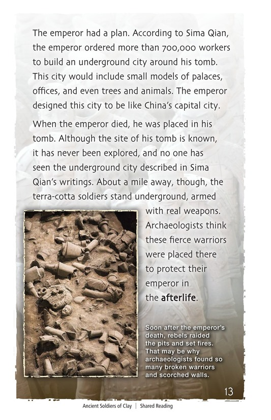 Book Preview For Ancient Soldiers of Clay Page 13