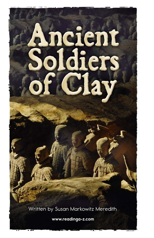 Book Preview For Ancient Soldiers of Clay Page 2