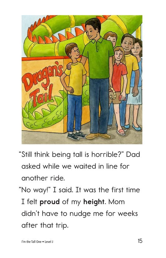 Book Preview For I'm the Tall One Page 15
