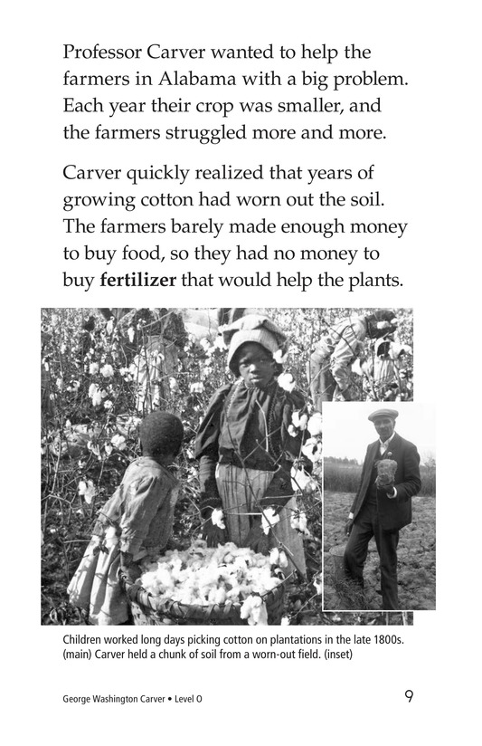 Book Preview For George Washington Carver Page 9
