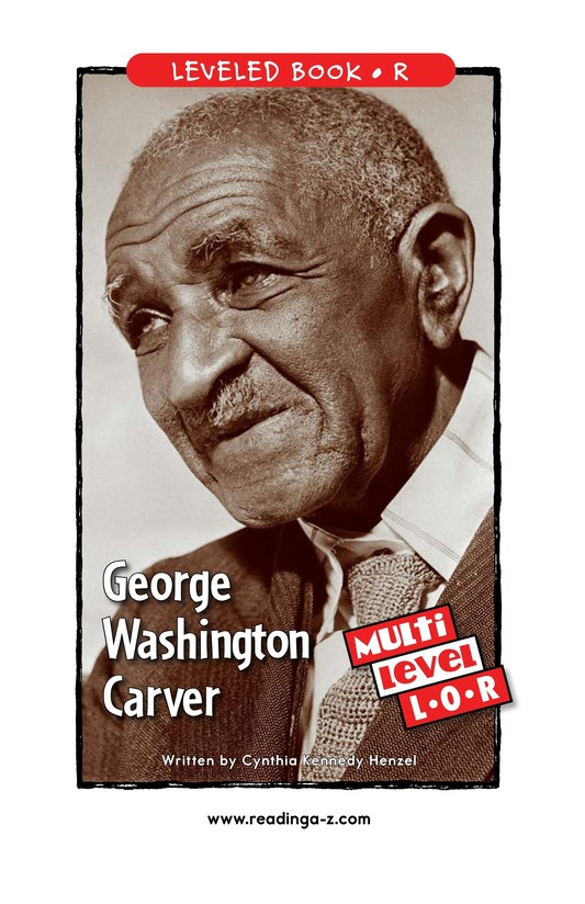 Book Preview For George Washington Carver Page 1