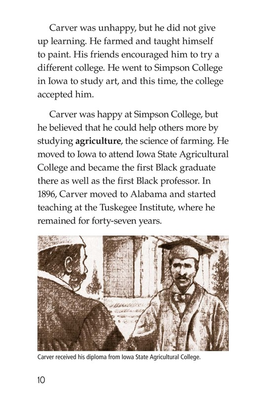 Book Preview For George Washington Carver Page 10