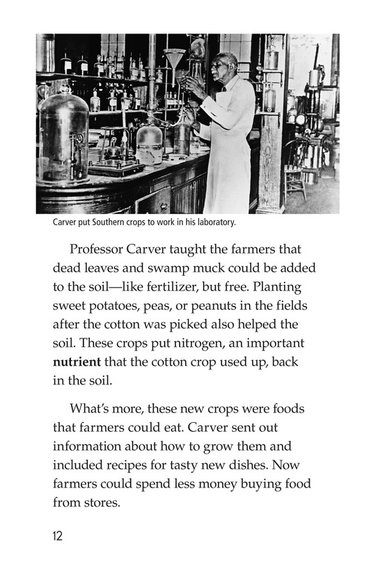 Book Preview For George Washington Carver Page 12