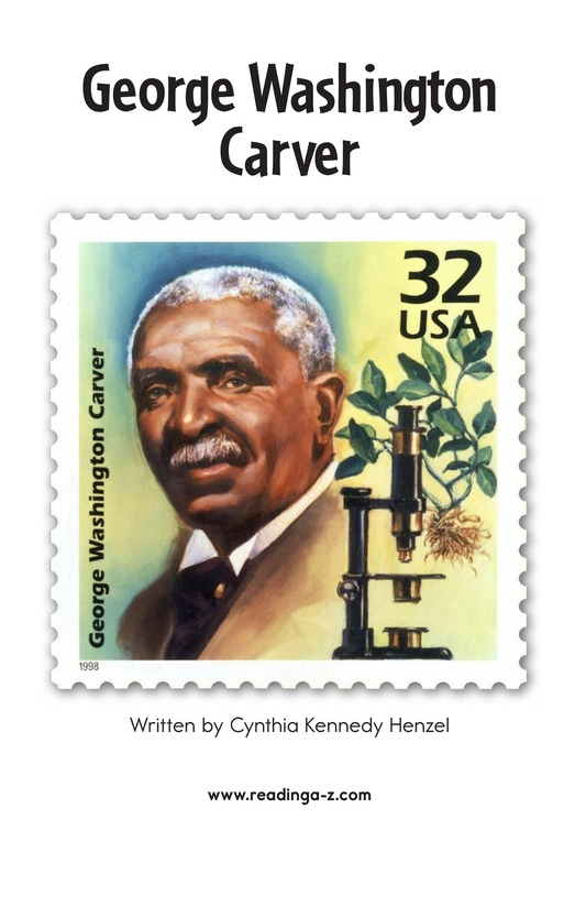 Book Preview For George Washington Carver Page 2