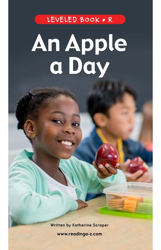 Book Preview For An Apple a Day Page 1