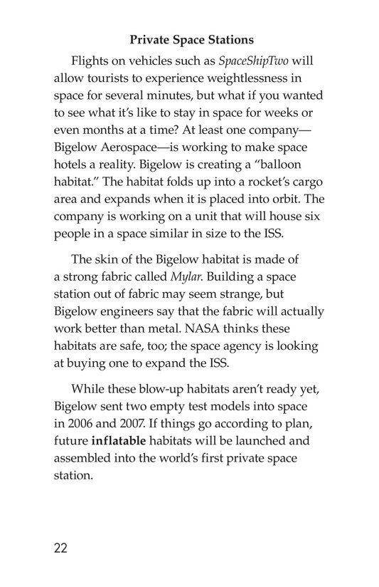 Book Preview For Private Spaceships Page 22