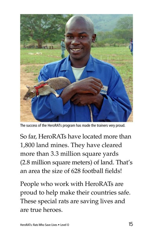 Book Preview For HeroRATs: Rats Who Save Lives Page 15