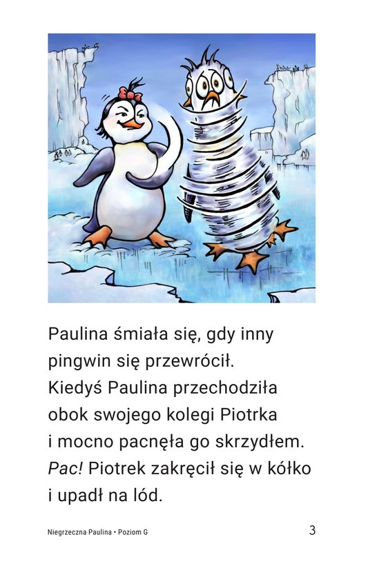 Book Preview For Penny the Rude Penguin Page 3
