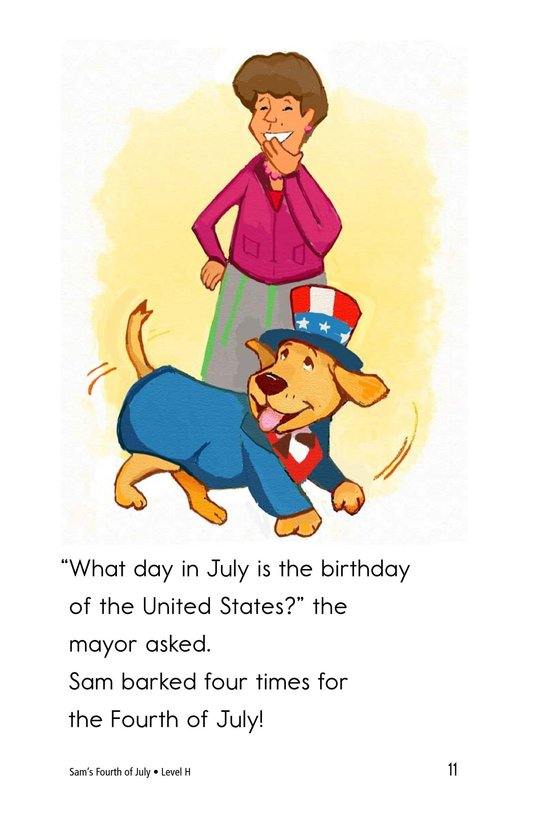 Book Preview For Sam's Fourth of July Page 11