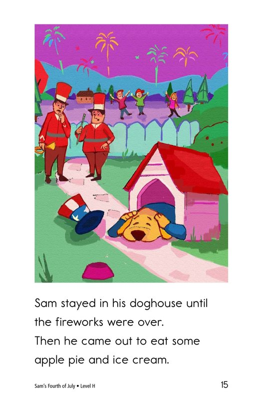 Book Preview For Sam's Fourth of July Page 15