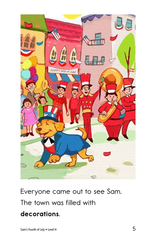 Book Preview For Sam's Fourth of July Page 5