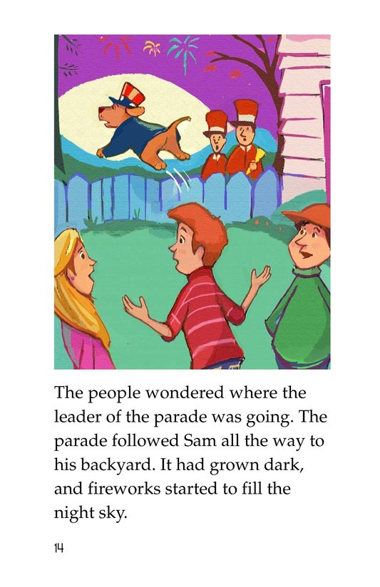 Book Preview For Sam's Fourth of July Page 14