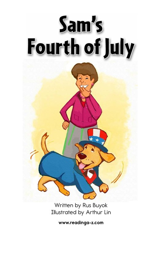 Book Preview For Sam's Fourth of July Page 2