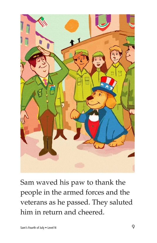 Book Preview For Sam's Fourth of July Page 9