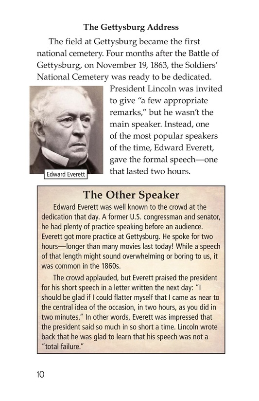 Book Preview For The Gettysburg Address Page 10