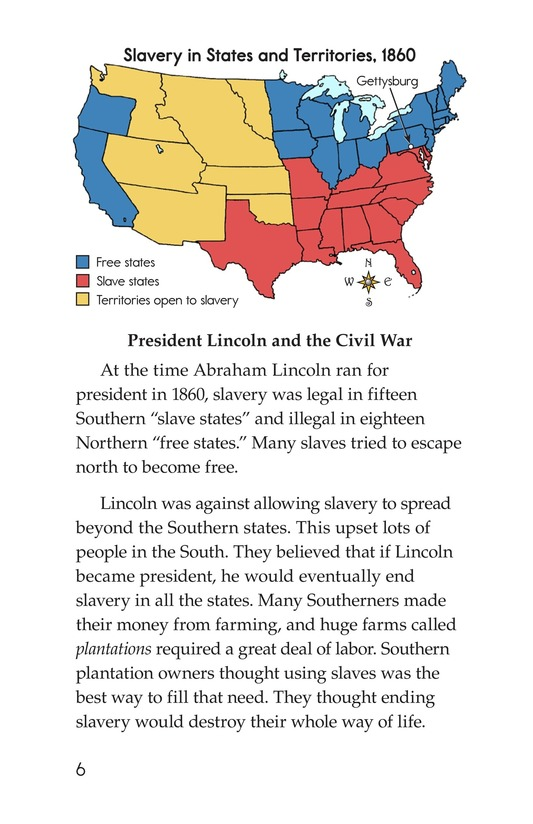 Book Preview For The Gettysburg Address Page 6