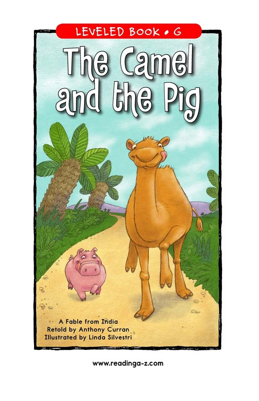 Book Preview For The Camel and the Pig Page 1