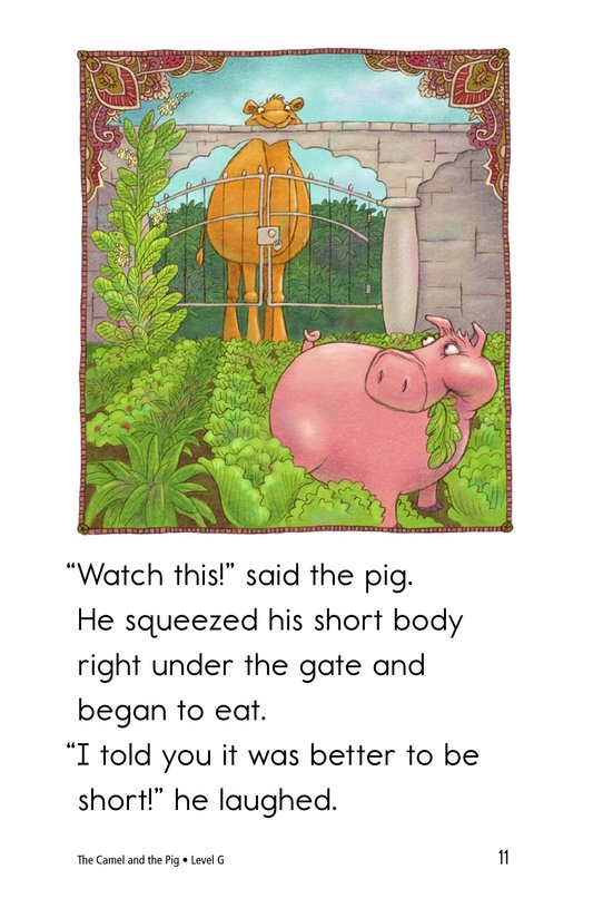 Book Preview For The Camel and the Pig Page 11