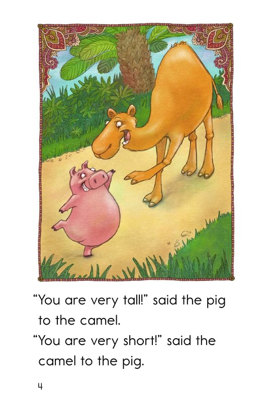 Book Preview For The Camel and the Pig Page 4
