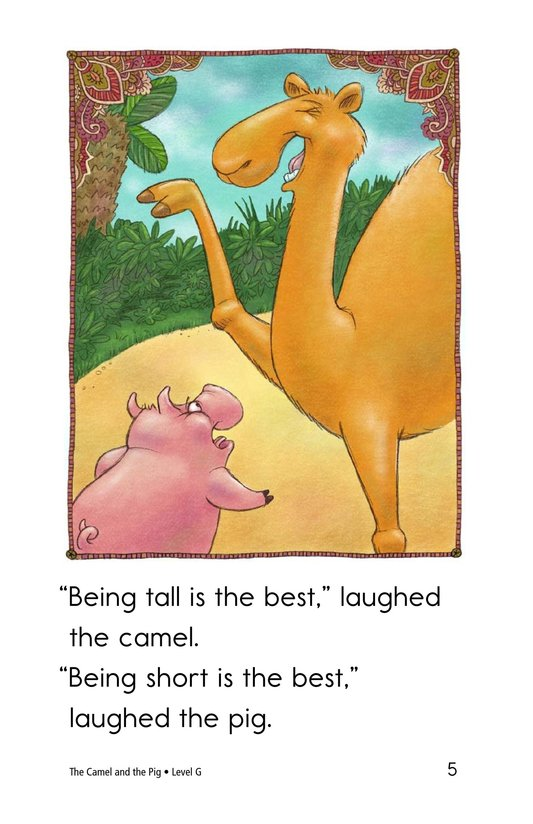 Book Preview For The Camel and the Pig Page 5