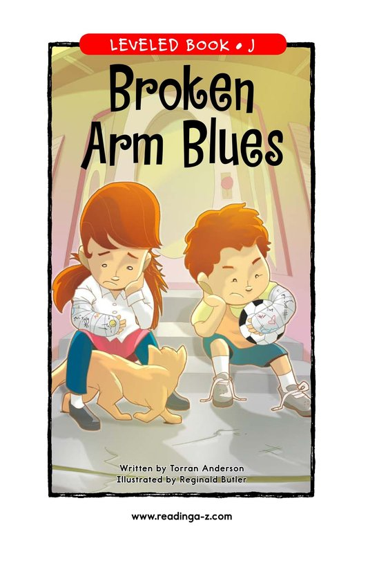 Book Preview For Broken Arm Blues Page 1