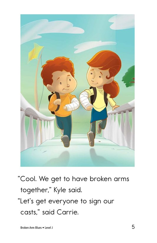 Book Preview For Broken Arm Blues Page 5