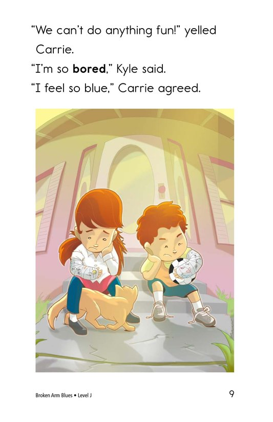 Book Preview For Broken Arm Blues Page 9