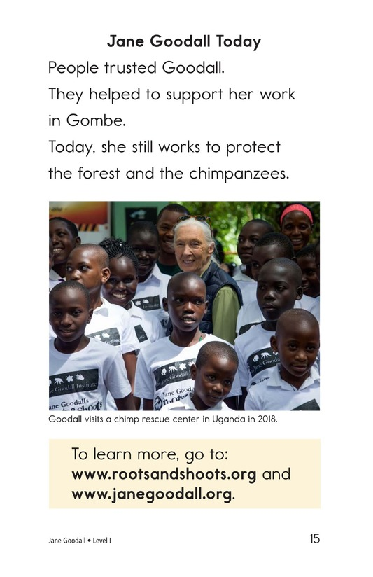 Book Preview For Jane Goodall Page 15