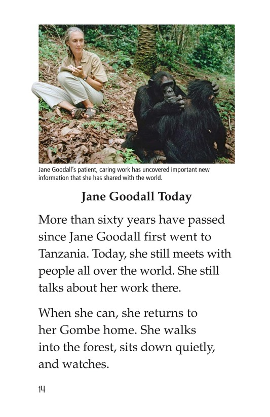 Book Preview For Jane Goodall Page 14